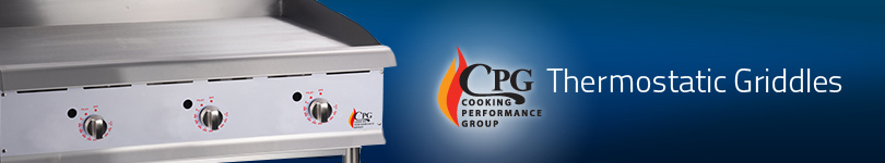 CPG - Griddles - Thermostatic